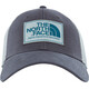 The North Face Mudder Trucker Hat Asphalt Grey/High Rise Grey/Blue Coral